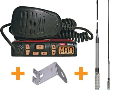 GME TX3100VP UHF Two Way CB Radio Starter Kit